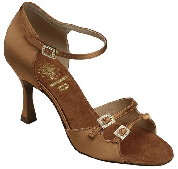 supadance 1616 brown ballroom dance shoes
