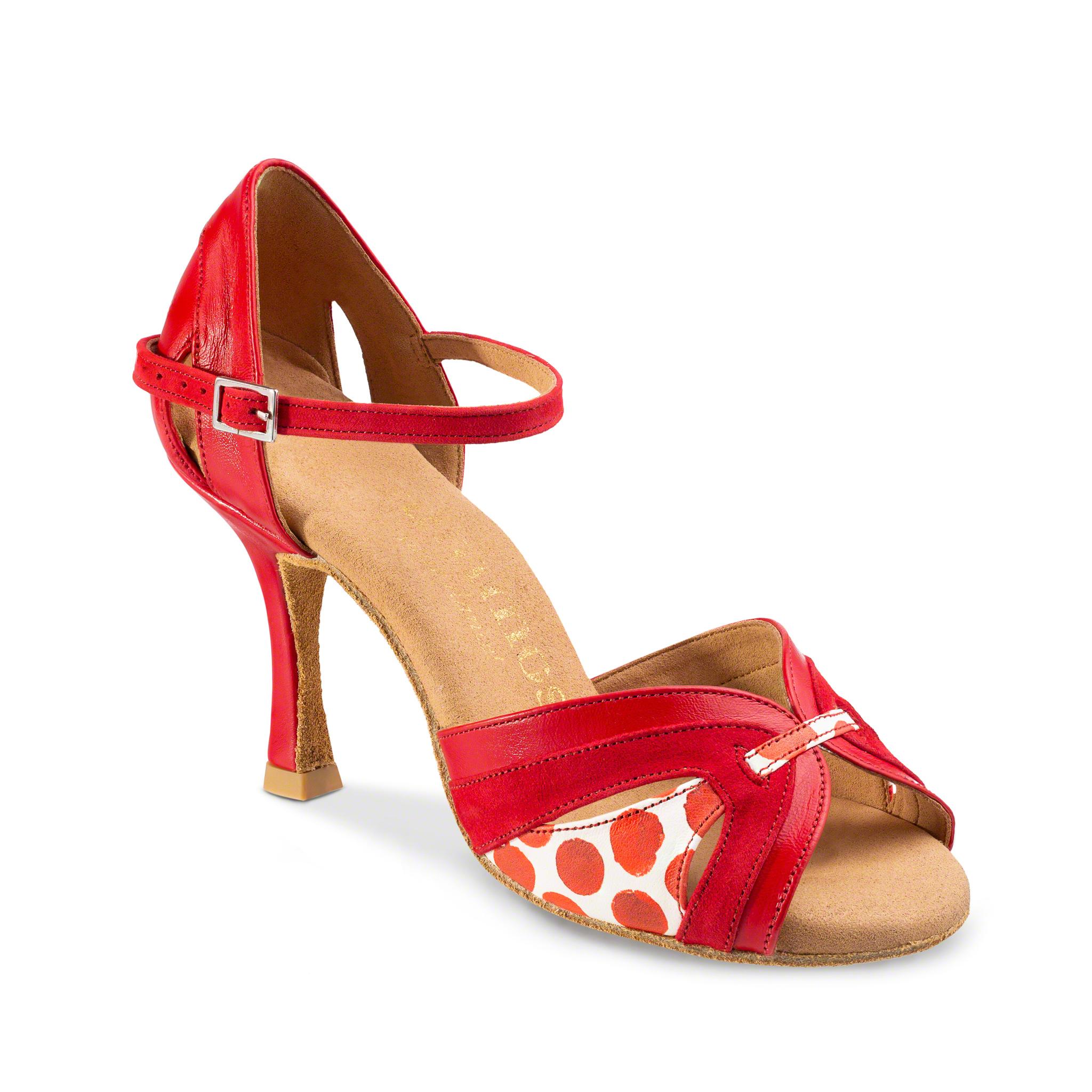 Red Ballroom Dance Shoe