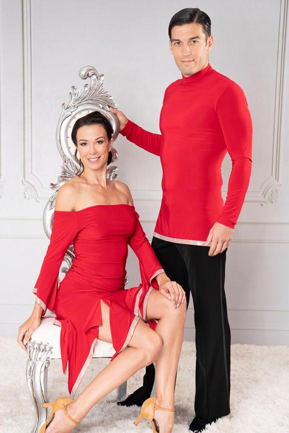 Men's ballroom tunic