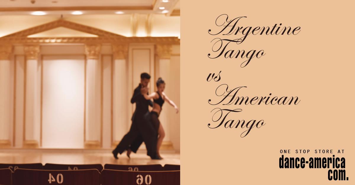 Argentine Tango vs American tango