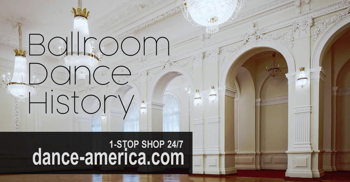 ballroom dance history