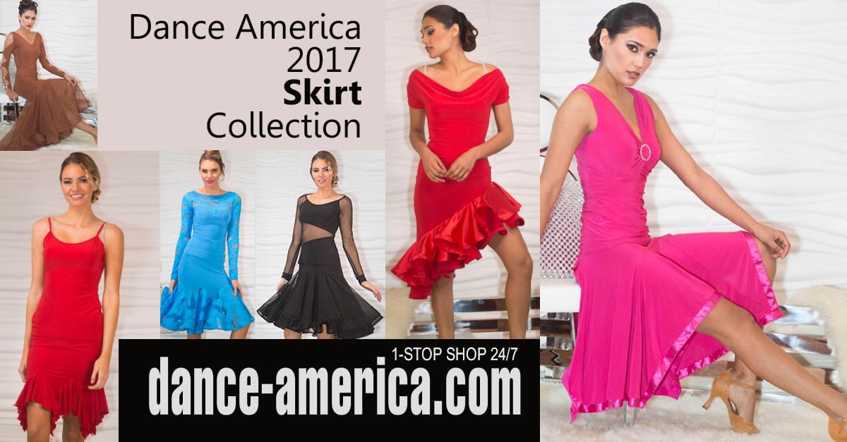 Latin Dance Skirt Collection