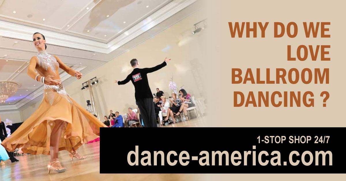 Why do we love ballroom dancing