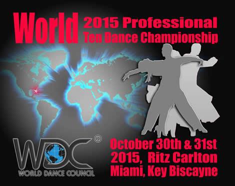 World 2015 professional ten dance championship